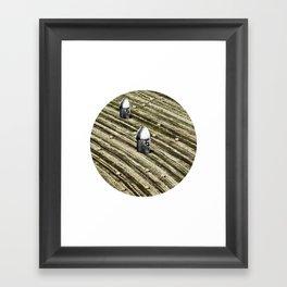 TERRITORIO VISUAL Framed Art Print