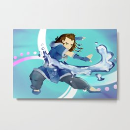 Harry Waterbending Metal Print