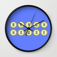 dc Wall Clocks featuring dc by kjio