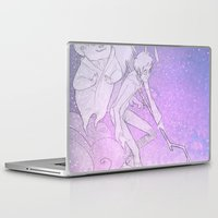 guardians Laptop & iPad Skins featuring The Guardians by Red Red Telephone