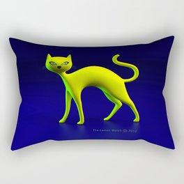 The Yellow Cat By THE-LEMON-WATCH Rectangular Pillow
