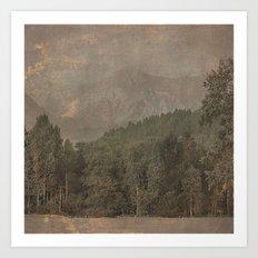 Vintage Landscape 04 Art Print
