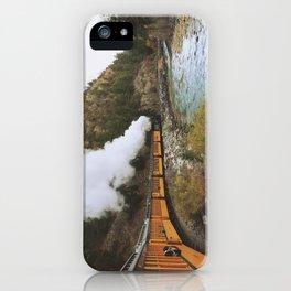 Steam Train iPhone Case