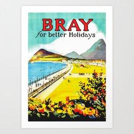Bray Art Print
