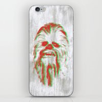 chewbacca iPhone & iPod Skins featuring Chewbacca by mangen