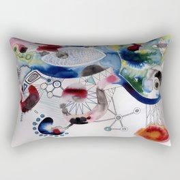 whimsical abstract Rectangular Pillow