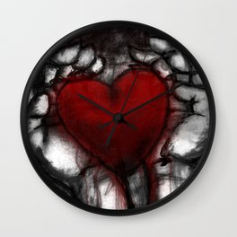 You Have My Heart Wall Clock