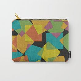 Playful Squares Carry-All Pouch