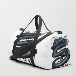 Dragon Swirl Duffle Bag