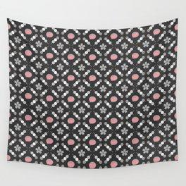 Hanami Nummies   Black Sakura Wall Tapestry
