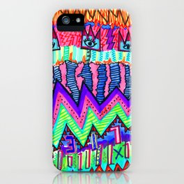KalEYEdoscope iPhone Case