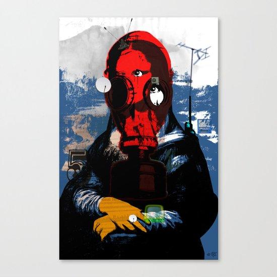 Mona Gasa StreetPunkArt 3 Canvas Print