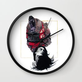 Haida Bear Wall Clock