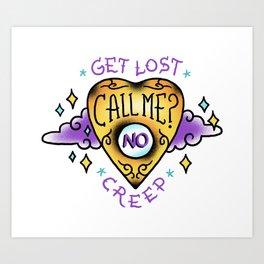 Get Lost! Art Print