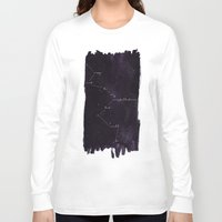 constellation Long Sleeve T-shirts featuring Constellation by Lauren Spooner