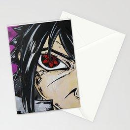 Sasuke - Blood eye Stationery Cards