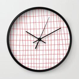 Maths Grid Wall Clock