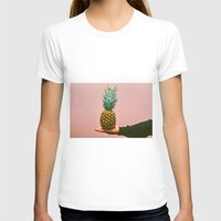 pineapples T-shirts featuring Pineapples! by orngchnl