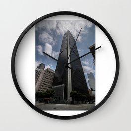 SkyScrapping Wall Clock