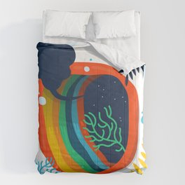 Underwater Blackhole Comforters