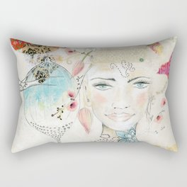 Unfold Rectangular Pillow