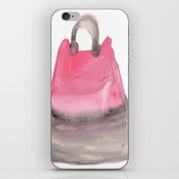 tote bag iPhone & iPod Skins featuring Tote 3 by ©valourine