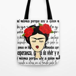Frida y sus frases Tote Bag