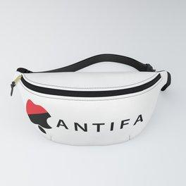 Apple flipped Antifa design Fanny Pack
