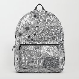 Floral Circles Backpack