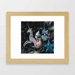 Christmas gifts Framed Art Print