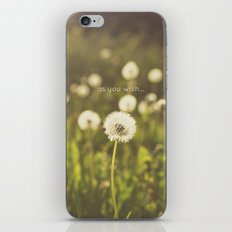 As you wish... iPhone & iPod Skin