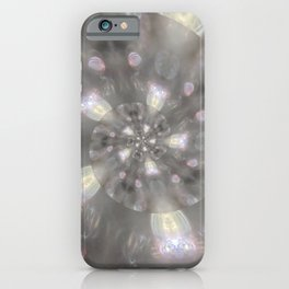 Light Speed - Abstract Photographic Art by Fluid Nature iPhone Case