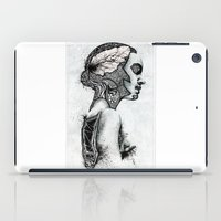 black swan iPad Cases featuring Swan by JsR_OtR