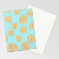 Straw Cushion Pattern Stationery Cards