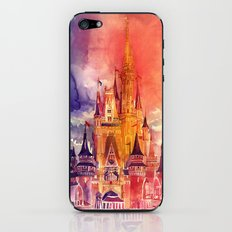 Cinderella Castle iPhone & iPod Skin