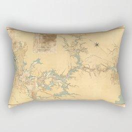 Panama Canal 1906 Rectangular Pillow