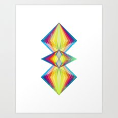 Polarity Art Print
