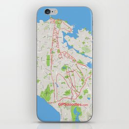 It's a zoo out there iPhone Skin