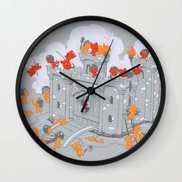 The Siege Wall Clock