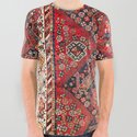 Qashqa'i Fars Southwest Persian Nomad Rug Print by vickybragomitchell