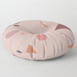 Abstract Geometric 28 Floor Pillow
