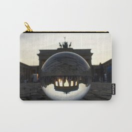 Brandenburg Gate, Berlin Germany / Glass Ball Photography Carry-All Pouch