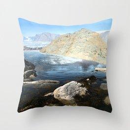 Life - the adventure Throw Pillow