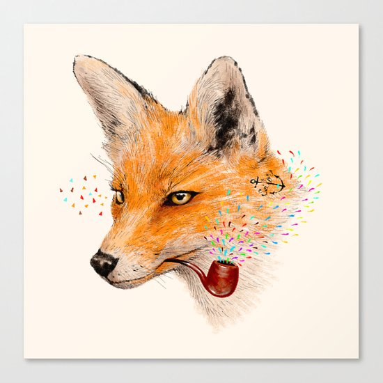 Fox VI Canvas Print