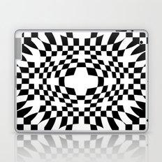 Op Art VIII - Black and White Laptop & iPad Skin