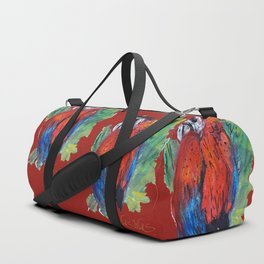 RED PARROT Duffle Bag
