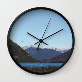 Lago Escondido in Patagonia Wall Clock