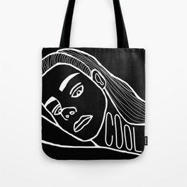 She's a Cool Girl Tote Bag