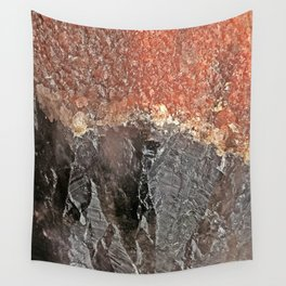 Red Capped Super Seven Wall Tapestry