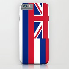 State flag of Hawaii - Authentic version Slim Case iPhone 6s